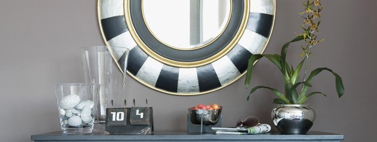 lambert nofretete spiegel rahmen holz massiv mit. Black Bedroom Furniture Sets. Home Design Ideas