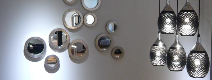 lambert ronda spiegel rahmen mit applikation aus. Black Bedroom Furniture Sets. Home Design Ideas