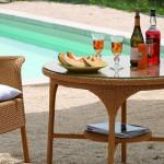 Lambert San Remo Tisch rund