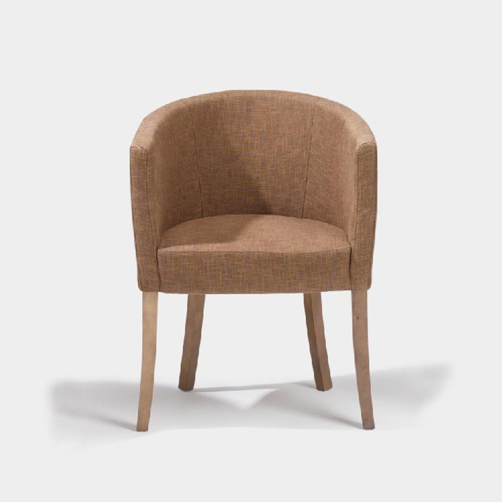 lambert titus armlehnstuhl nussbraun gebeizt sitz. Black Bedroom Furniture Sets. Home Design Ideas