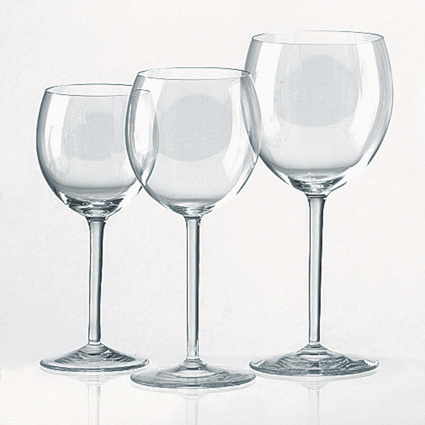 Lambert Connaisseur Kristallglas klar, verschiedene Ausführungen