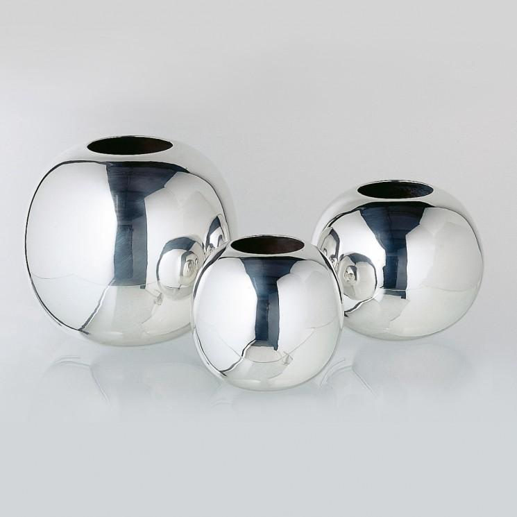 Lambert Dacca Vase versilbert, verschiedene Größen