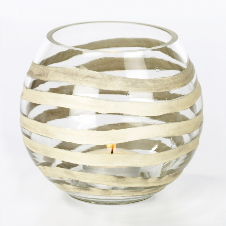 Lambert Paladino Windlicht Glas