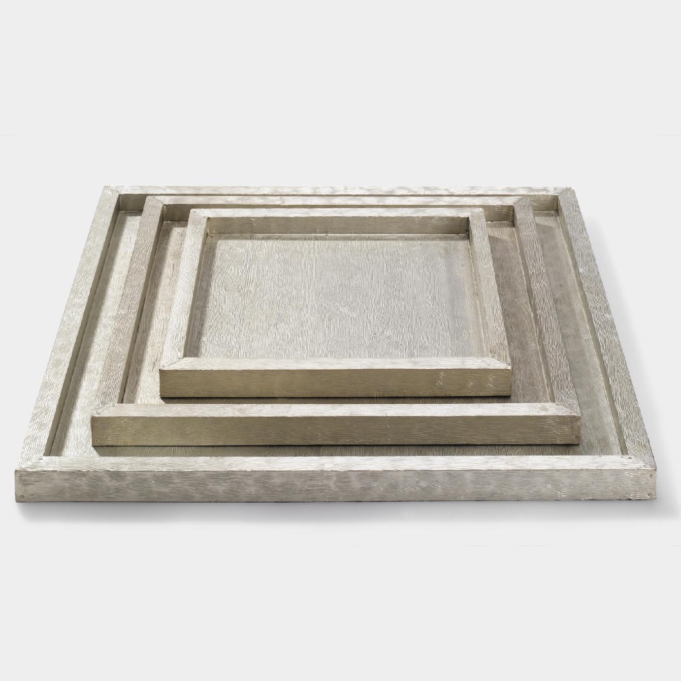 Lambert Tresor Tablett Weißmetall