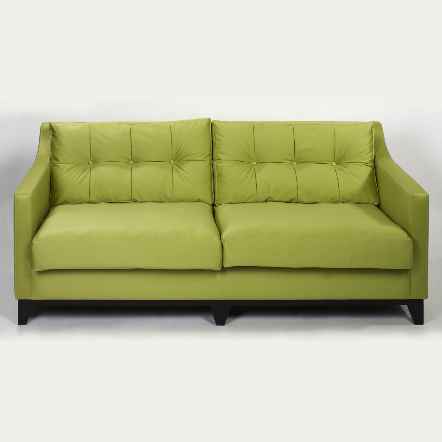 Lambert bonnie sofa ii wei polster inkl 2 r ckenpolster for Sofa 80 cm tief