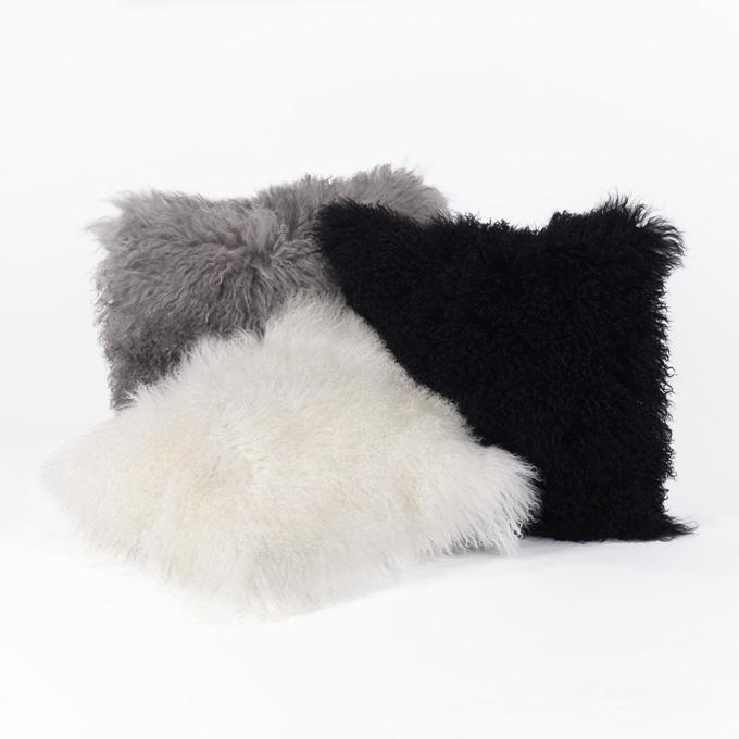 lambert sihara kissenbezug 40 x 40 cm natur weiss tibetlamm lambert m bel shop exklusives. Black Bedroom Furniture Sets. Home Design Ideas