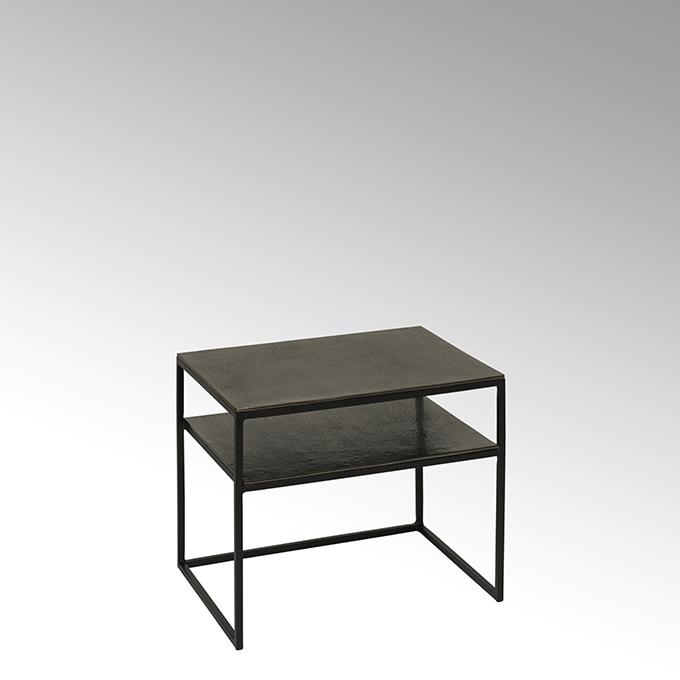 Lambert Miyu Nachttisch/ Beistelltisch Untergestell Eisen pulverbeschichtet