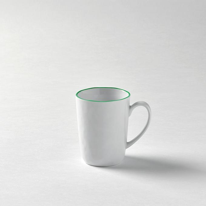 Lambert Piana Tassen Rand hellgrün