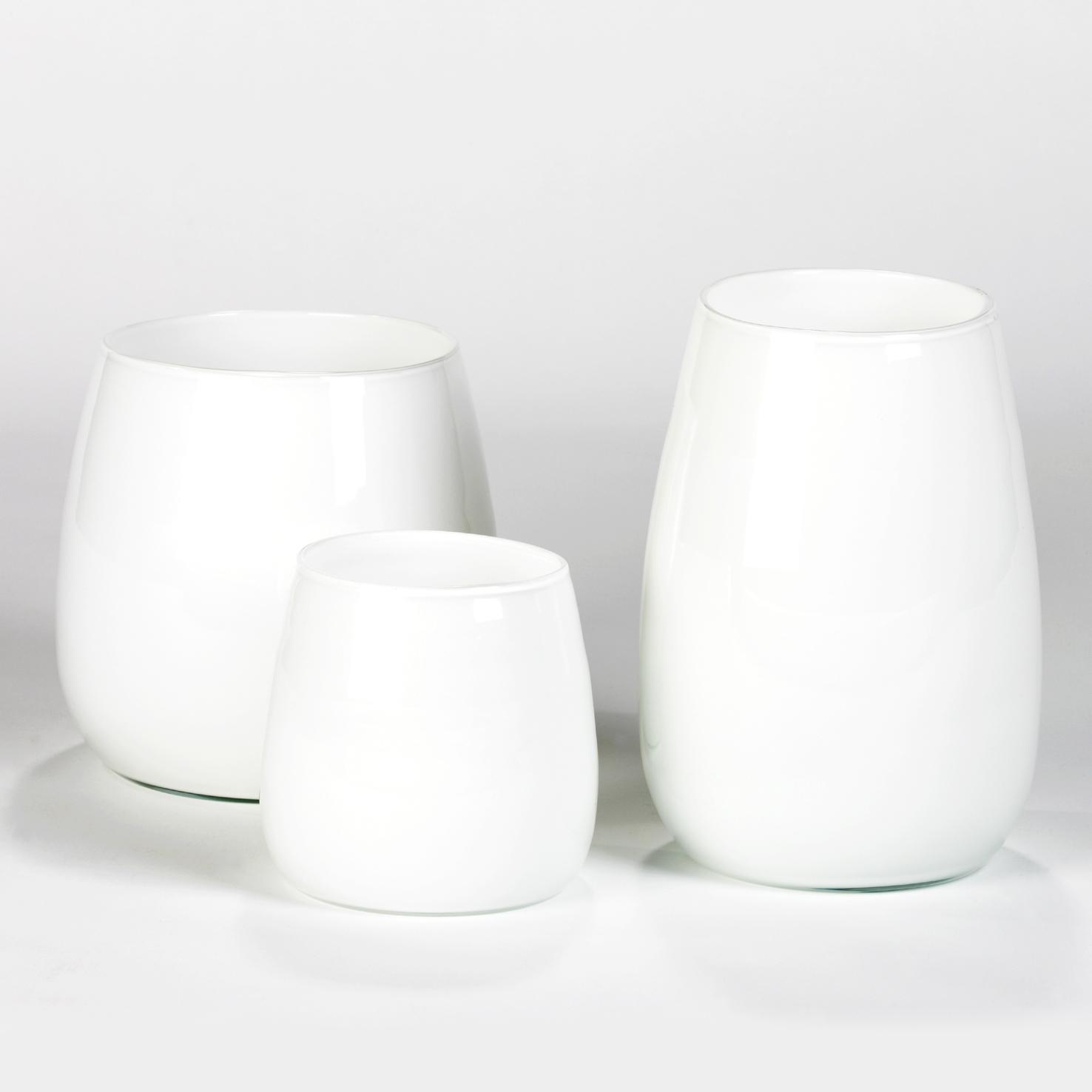 Lambert Pisano Vase weiß verschiedene Größen