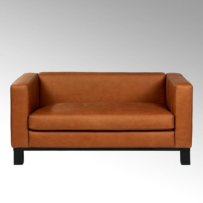 lambert bella sofa lang festbezogen mit leder rahmen und f e massivholz schwarz gebeizt. Black Bedroom Furniture Sets. Home Design Ideas