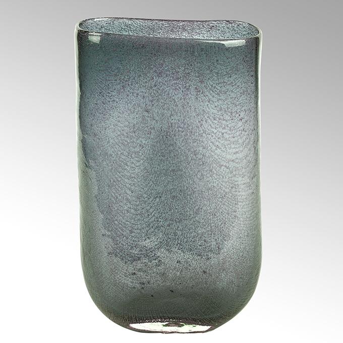 Lambert Cellini Vase oval petrol H 30 cm