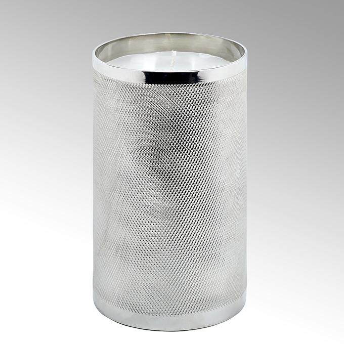 Lambert Luana Kerze im Gefäß Aluminium groß