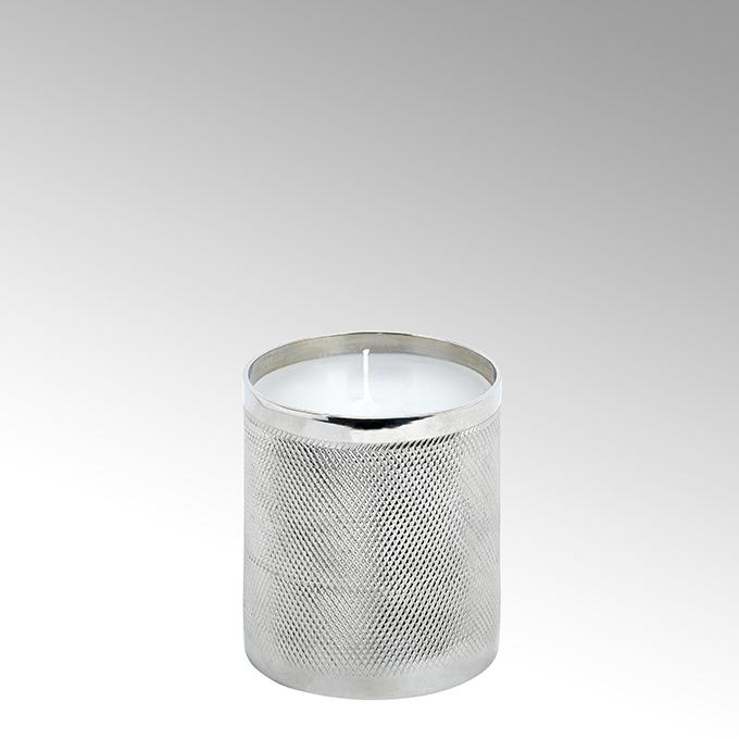 Lambert Luana Kerze im Gefäß Aluminium klein