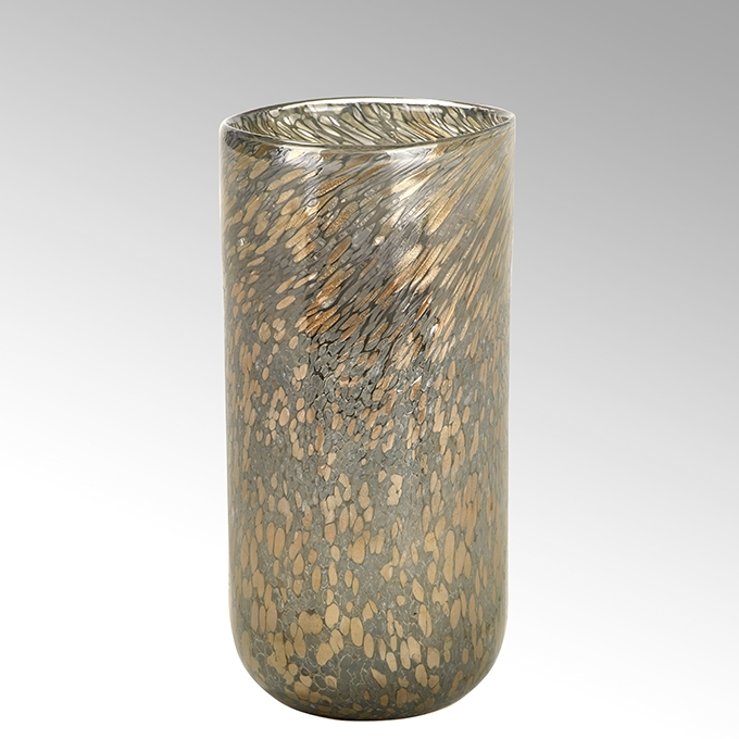 Lambert Paolo Vase stein-rosé-gold H 42