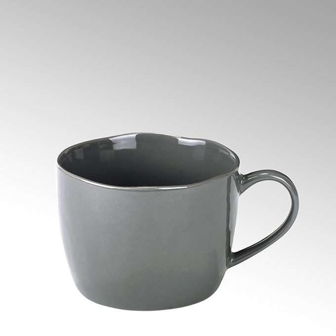 Lambert Piana Kaffee-/ Teetasse Stoneware, anthrazit