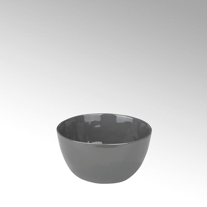 Lambert Piana Schüssel Stoneware, anthrazit H7 Ø14cm