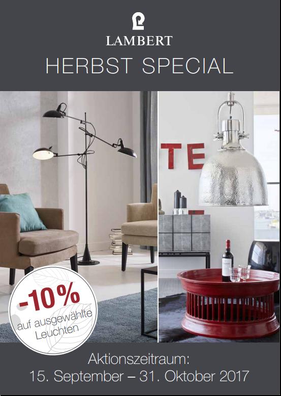 herbst special auf leuchten archive lambert m bel shop. Black Bedroom Furniture Sets. Home Design Ideas