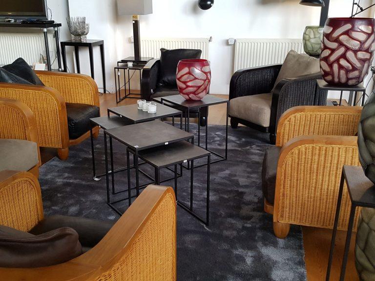 Lambert 50 Jahre Lobby Sessel natur schwarz Lambert