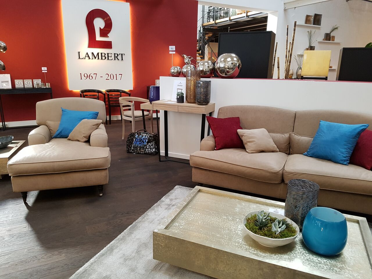 lambert 50 jahre continental lambert m bel shop exklusives wohndesign. Black Bedroom Furniture Sets. Home Design Ideas