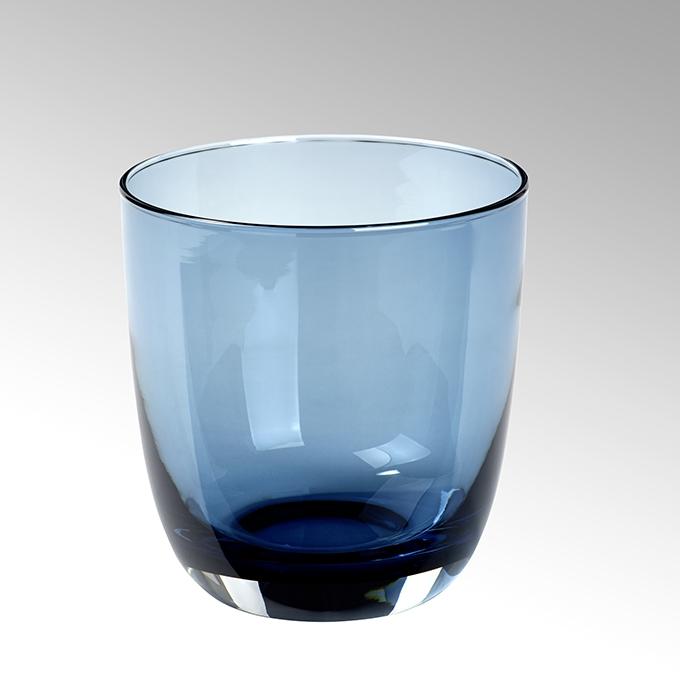 Lambert Becherglas chacoal blau