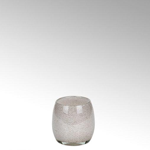 Lambert Porano Vase/ Windlicht magnolie
