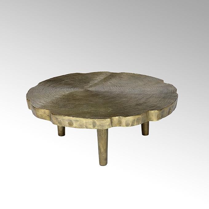 Toshiko Couchtisch Aluminium Sandguss klein