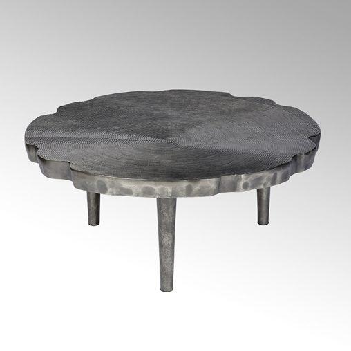 Lambert Toshiko Couchtisch Aluminium Sandguss groß