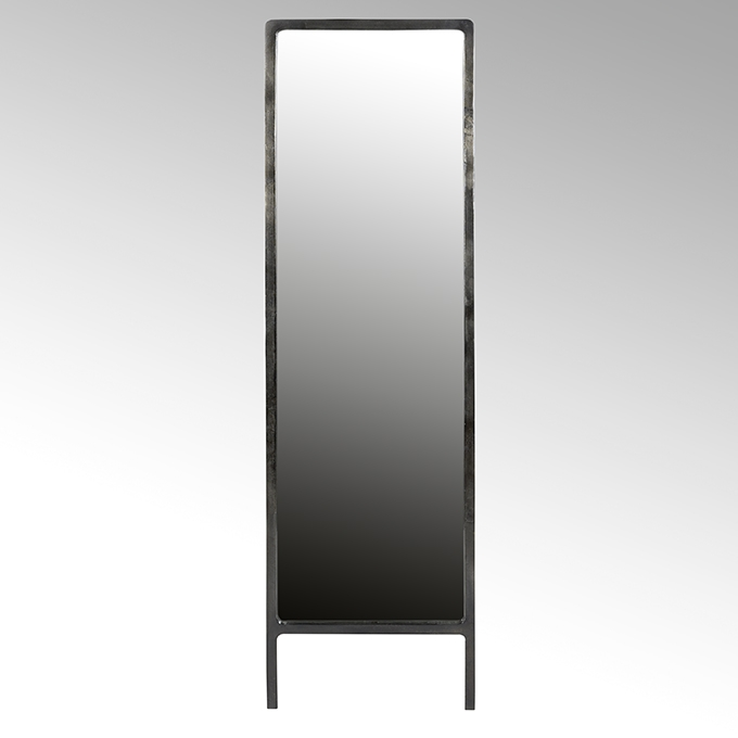 lambert vanity standspiegel aluminium schwarz vernickelt. Black Bedroom Furniture Sets. Home Design Ideas