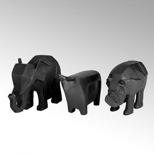 Lambert Bull Figur Aluminium