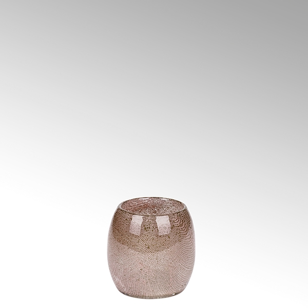 Lambert Porano Vase/ Windlicht rose