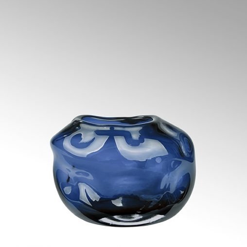 Lambert Carracci Vase petrol klein