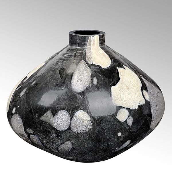 Lambert Bjarne Vase Glas bauchig groß