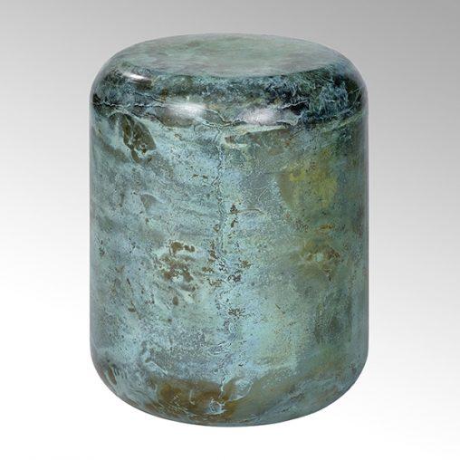 Lambert Jade Hocker/ Beistelltisch Stahl