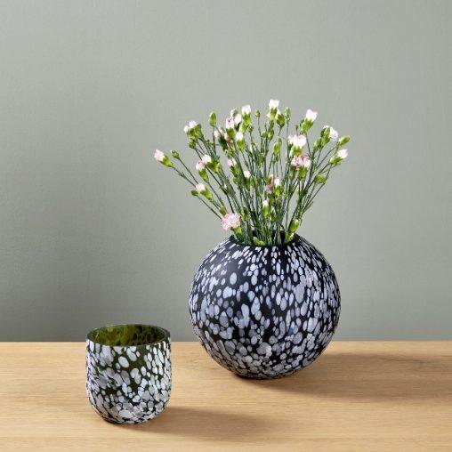 Lambert Robbia Vase/Windlicht
