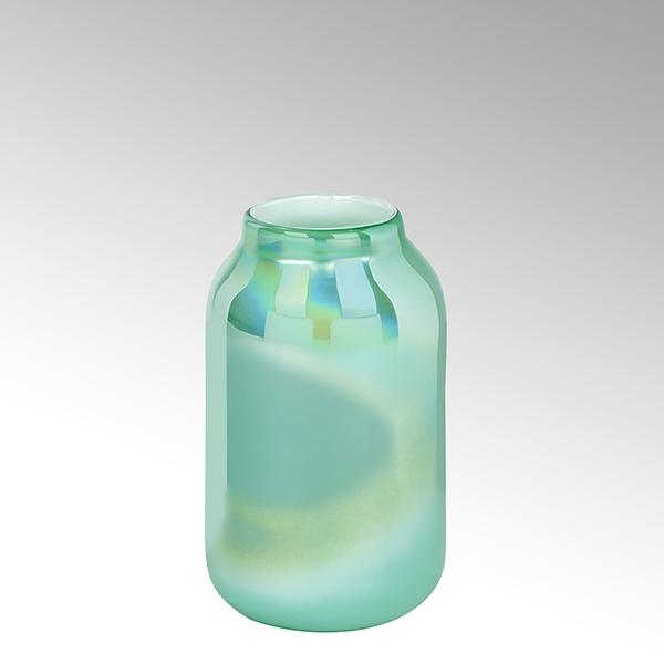Lambert Ferrata Vase jade/metallic