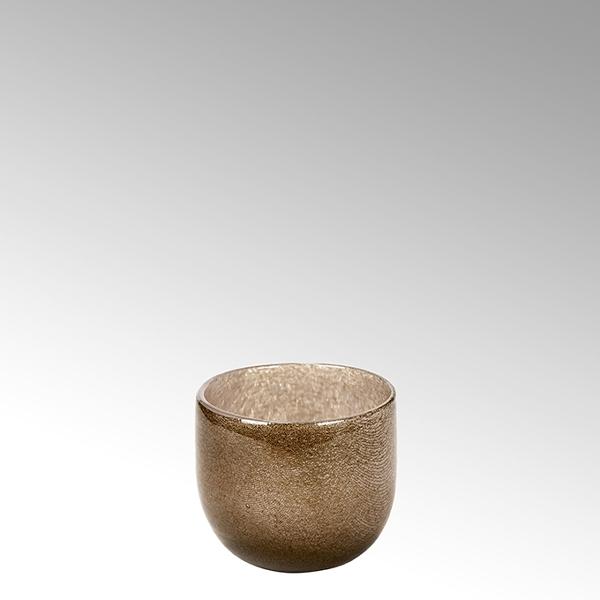 Lambert Cellini Vase taupe klein