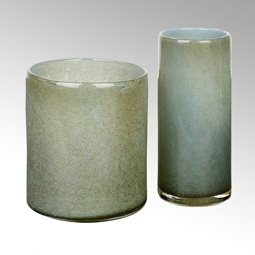 Lambert Messina Vase rauchblau