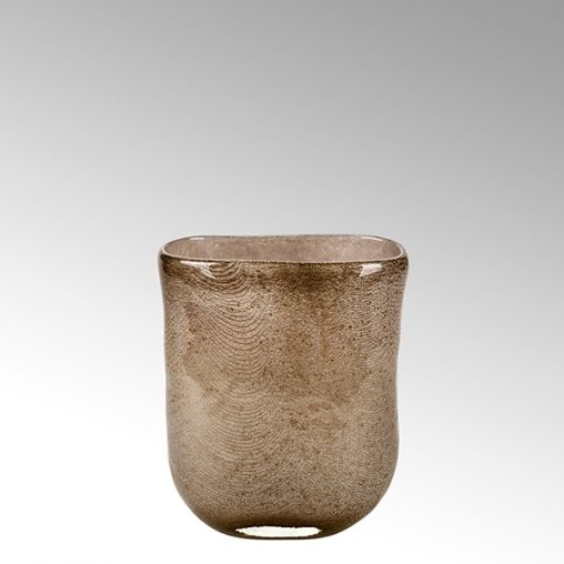 Lambert Cellini Vase mittel taupe