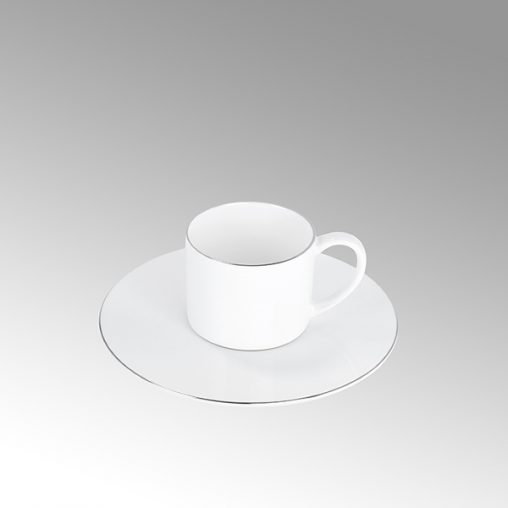 Serene Espressountertasse Rand
