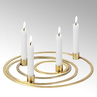 Areum Kerzenhalter Set gold