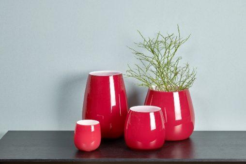 Lambert Pisano Vasen rot verschiedene Größen