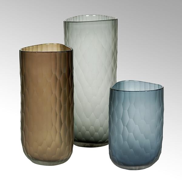 Lambert Tura Vase mit Schliff