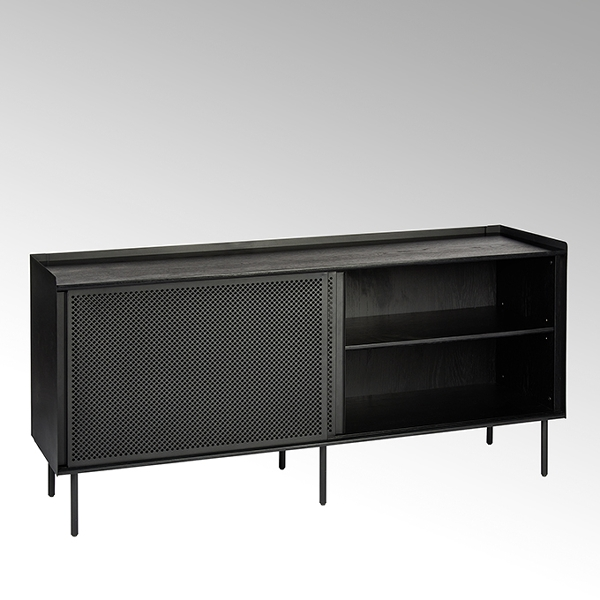 Lambert Roman Sideboard schwarz